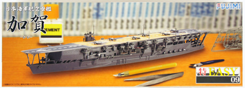 Fujimi TOKU-Easy 09 IJN Aircraftcarrier Kaga 1/700 Scale Kit