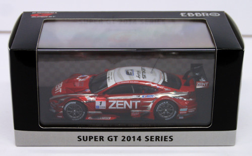 Ebbro 45066 ZENT CERUMO RC F SUPER GT500 2014 Red No.1 1/43 Scale