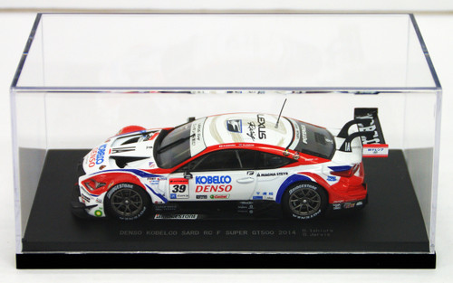 Ebbro 45068 DENSO KOBELCO SARD RC F SUPER GT500 2014 No.39 White 1/43 Scale