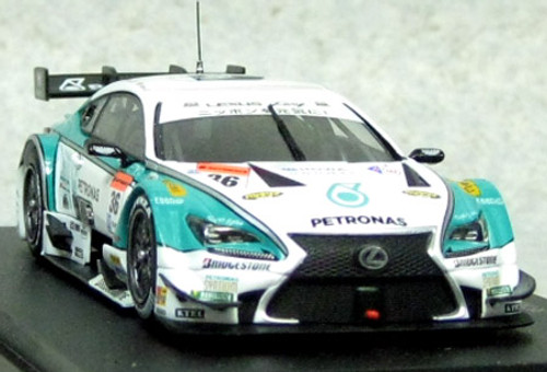 Ebbro 45064 PETRONAS TOM'S RC F SUPER GT500 2014 No.36 White 1/43 Scale