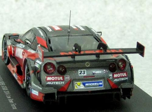 Ebbro 45100 Motul Autech GT-R SUPER GT500 2014 Rd.2 Fuji Red 1/43 Scale