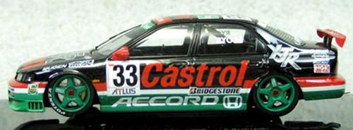 Ebbro 45136 CASTROL MUGEN ACCORD JTCC 1996 No.33 Black 1/43 Scale