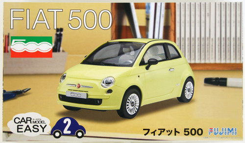 Fujimi Car-Easy 02 Fiat 500 1/24 Scale Kit