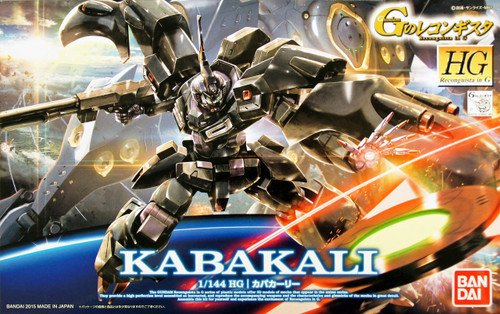 Bandai Reconguista in G G016 Gundam Kabakali 966957 1/144 Scale Kit