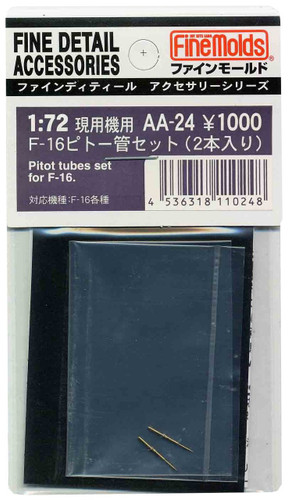 Fine Molds AA24 Pitot Tubes 2 Set for F-16 Series 1/72 Scale Kit