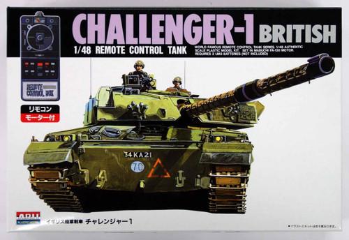 Arii 441039 Challenger-1 British Remote Control Tank 1/48 Scale Kit