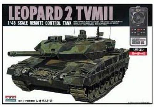 Arii 441053 Leopard 2 TVMII Remote Control Tank 1/48 Scale Kit