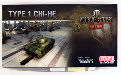 Fine Molds 240013 World of Tanks Type 1 CHI-HE 1/35 Scale Kit