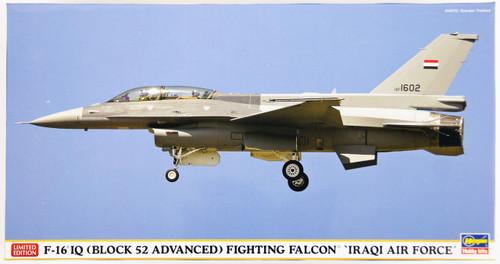 Hasegawa 07412 F-16IQ (Block 52 Advanced) Fighting Falcon Iraqi Air Force 1/48 Scale Kit