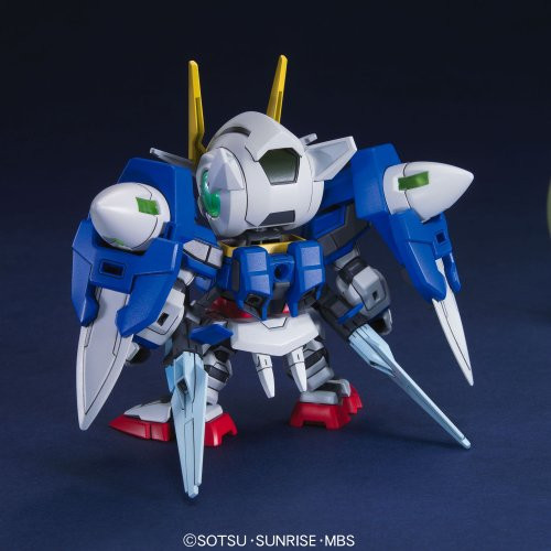 Bandai SD BB 316 Gundam OO Gundam Plastic Model Kit