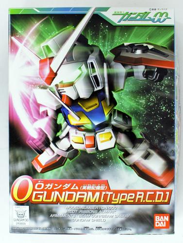 Bandai SD BB 333 Gundam O Gundam (Type A.C.D) Plastic Model Kit