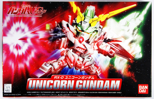 Bandai SD BB 360 Gundam Unicorn Gundam Plastic Model Kit