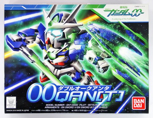 Bandai SD BB 364 Gundam OO Qan[T] Plastic Model Kit