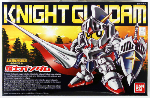 Bandai SD BB 370 Gundam Knight Gundam Plastic Model Kit