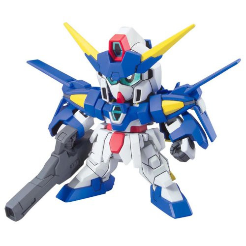 Bandai SD BB 372 Gundam Age-3 (Normal/ Orbital/ Fortress) Plastic Model Kit