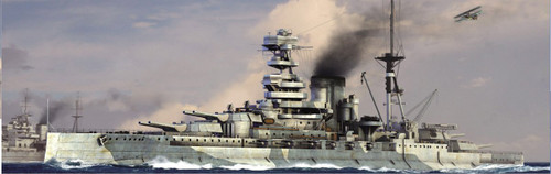 Pit-Road Skywave W-164 HMS BattleShip Barham 1941 1/700 Scale Kit
