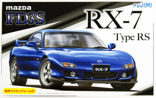 Fujimi ID-36 Mazda RX-7 FD3S Type RS 1/24 Scale Kit 039428