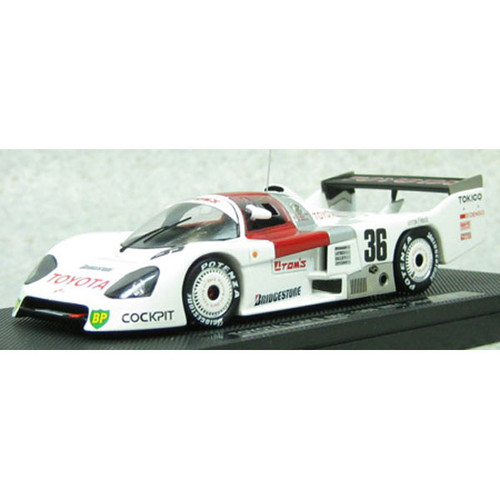 Ebbro 44243 Toyota TOM'S 86C WEC JAPAN 1986 Fuji No.36 White 1/43 Scale