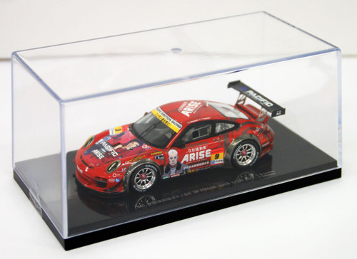 Ebbro 44953 NAC ARISE DR PORSCHE SUPER GT 300 2013 No.9 Red 1/43 Scale