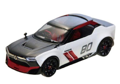 Ebbro 45038 NISSAN IDx nismo White/Black 1/43 Scale