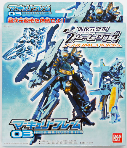 Bandai 018728 FRAMERobo 03 MERCURYFRAME Plastic Model Kit