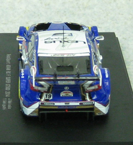 Ebbro 45069 WedsSport ADVAN RC F SGT 500 2014 No.19 Blue 1/43 Scale