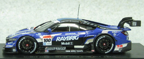 Ebbro 45071 Raybrig NSX Concept- GT SGT 500 2014 No.100 Blue 1/43 Scale