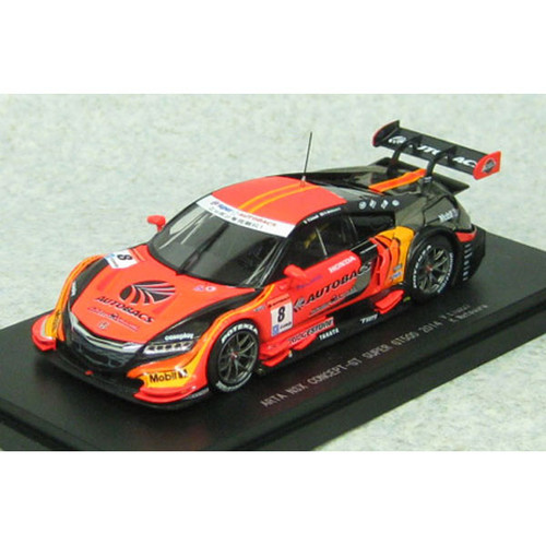 Ebbro 45072 ARTA NSX Concept-GT SGT 500 2014 No.8 Orange 1/43 Scale