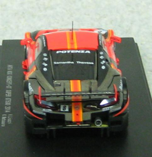 Ebbro 45072 ARTA NSX Concept-GT SGT 500 2014 No.8 Orange 1/43 Scale