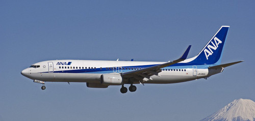 Hasegawa 10693 ANA All Nippon Airways Boeing 737-800 1/144 Scale Kit