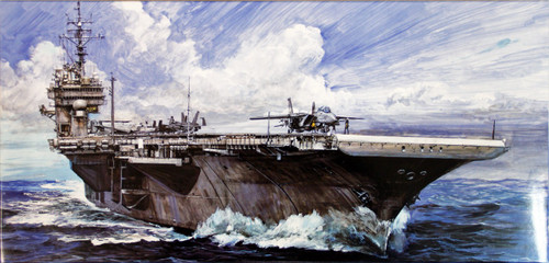Fujimi SWM SP24 Aircraft Carrier CV-63 Kitty Hawk 1998 DX with Photo Etched Parts 1/700 Scale Kit