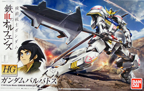Bandai Iron-Blooded Orphans 001 Gundam BARBATOS 1/144 Scale Kit