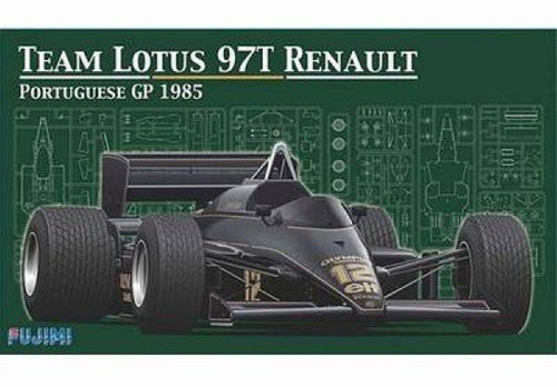 Fujimi GP SP16 F1 Team Lotus 97T Renault Portuguese GP 1985 1/20 Scale Kit