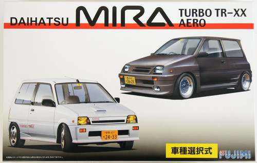 Fujimi ID-153 Daihatsu MIRA Turbo TR-XX or AERO 1/24 Scale convertible Kit 039473