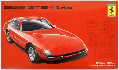 Fujimi RS-107 Ferrari 365 GTB4 Daytona 1/24 Scale Kit