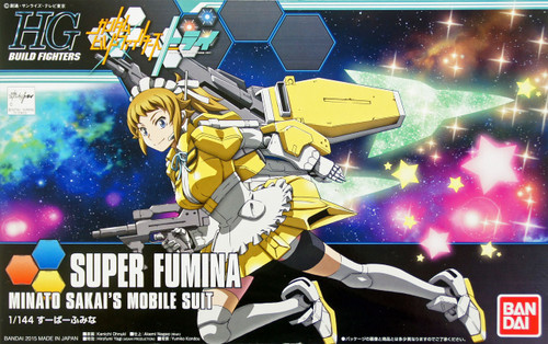Bandai HG Build Fighters 044 SUPER FUMINA 1/144 Scale Kit