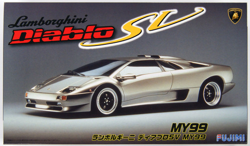 Fujimi RS-79 Lamborghini Diablo SV MY99 1/24 Scale Kit 126340