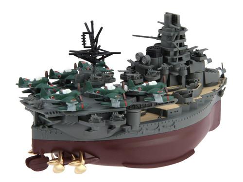 Fujimi TK13 Chibi-maru Kantai Fleet IJN Carrier BattleShip Ise non-Scale Kit