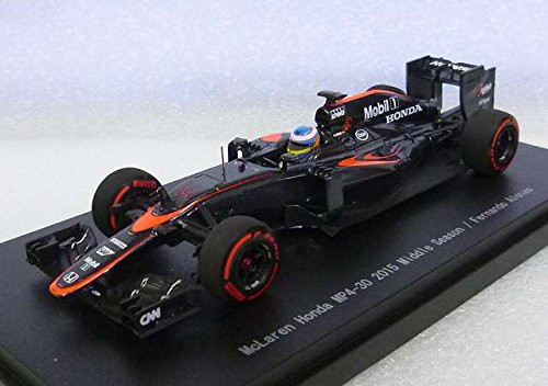 Ebbro 45326 McLaren Honda MP4-30 2015 Middle Season/Fernando Alonso 1/43 Scale