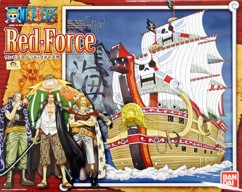 Bandai One Piece Red Force Non Scale Kit 4549660013136