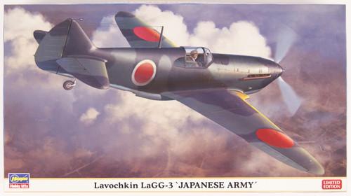 Hasegawa 07417 Lavochkin LaGG-3 Japanese Army 1/48 Scale Kit