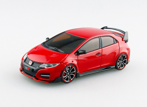 Ebbro 45234 HONDA Civic Type R Concept 2014 Red 1/43 Scale