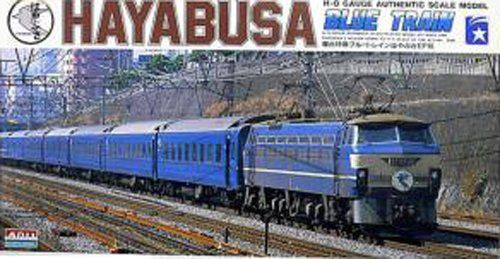 Arii 708033 EF66TYPE Blue Train Hayabusa 1/80 Scale Kit