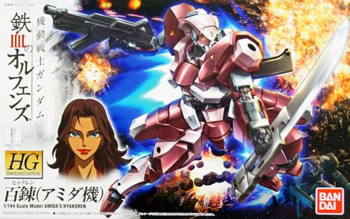 Bandai Iron-Blooded Orphans 010 Gundam AMIDA'S HYAKUREN 1/144 Scale Kit