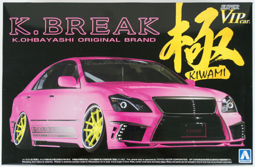 Aoshima 11683 Toyota 18 Crown Hyper Zero Custom Version 2 K-Break Kiwami 1/24 Scale Kit