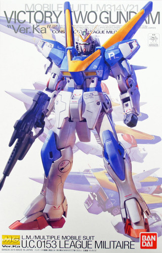 Bandai MG 032250 Gundam Victory Two (V2) Gundam VersionKa 1/100 Scale Kit