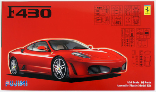 Fujimi RS-109 Ferrari F430 1/24 Scale Kit