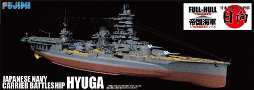 Fujimi FH-35 IJN Japanese Navy Carrier BattleShip HYUGA (Full Hull) 1/700 Scale Kit