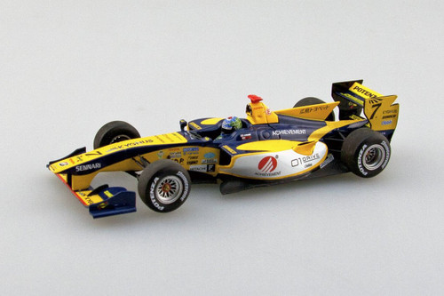 Ebbro 45117 ACHIEVEMENT Team KYGNUS SF14 2014 #7 Yellow/Blue 1/43 Scale