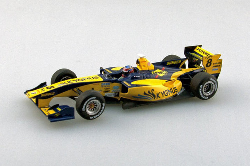 Ebbro 45118 Team KYGNUS SF14 2014 #8 Yellow/Blue 1/43 Scale